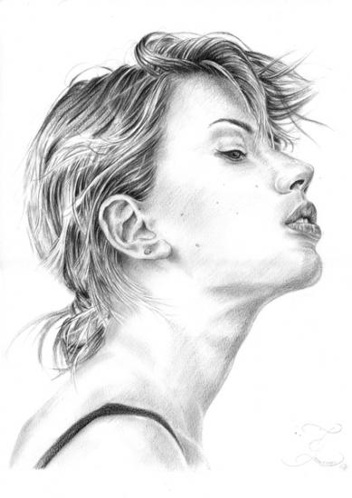 Scarlett Johansson by Olivier_Lerousseau